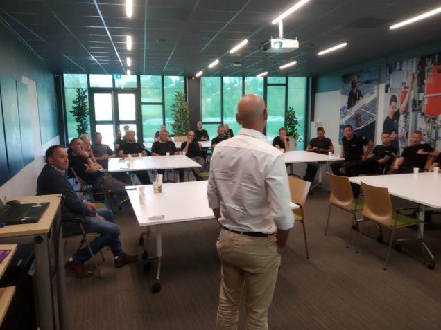Monteursbijeenkomst Strukton Worksphere brengt werknemers op de hoogte van nieuwste ontwikkelingen