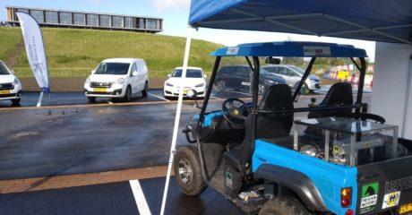 Waterstofauto aanwezig op open dag Energiecampus Leeuwarden