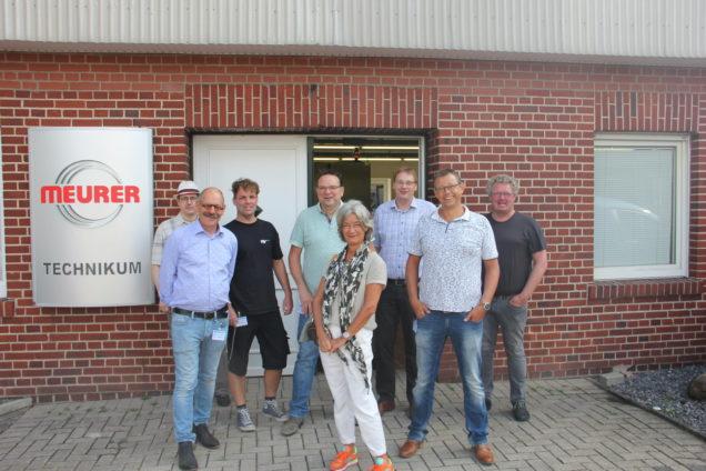Docenten ROC Friese Poort bezoeken Osnabrück in kader internationaal Erasmus-project