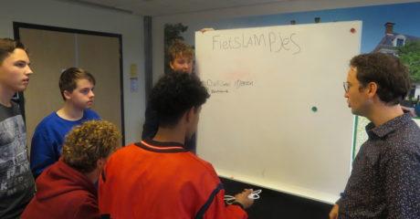 Commerciële studenten ROC Friese Poort doorlopen circulair ontwerptraject