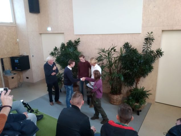 Bouw en Infra-studenten ROC Friese Poort presenteren ontwerp vogelkijkhut