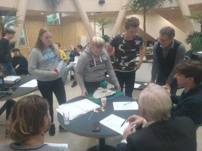 ROC Friese Poort-studenten Bouwkunde bedenken duurzame waterverbinding voor Oosterwolde
