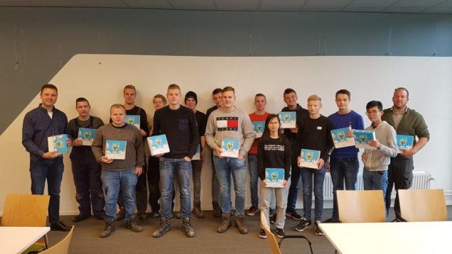 Studenten Installatietechniek ROC Friese Poort winnen OTIB-prijs tijdens Installatie Vakbeurs