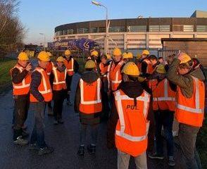 Studenten ROC Friese Poort wonen gestuurde boring voor zonnepark bij