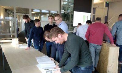 Studenten Bouwkunde Sneek presenteren ontwerp voor duurzame hexagon