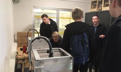 Studenten Mechatronica volgen workshop 3D-printing