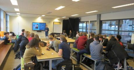 Problem solving door Commerciële studenten ROC Friese Poort tijdens Creaton
