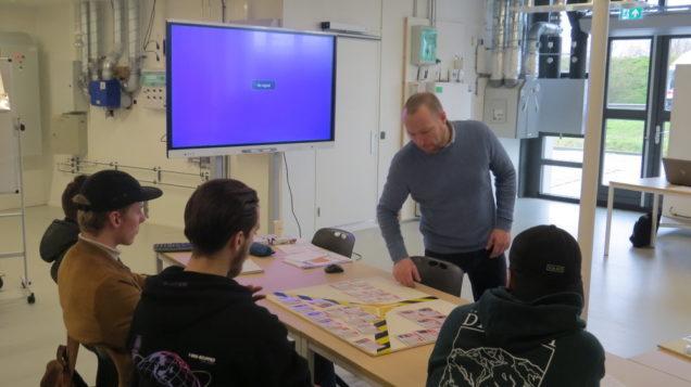 Bouwkunde-studenten ROC Friese Poort doen inspiratie op voor Hibertad Challenge