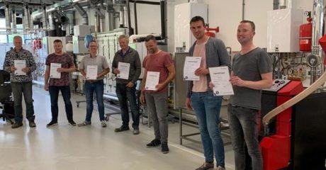 Examentraining voor monteurs Pranger-Rosier bij Centrum Duurzaam van ROC Friese Poort