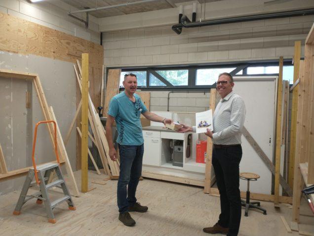 Kingspan levert isolatiemonsters voor onderwijs ROC Friese Poort