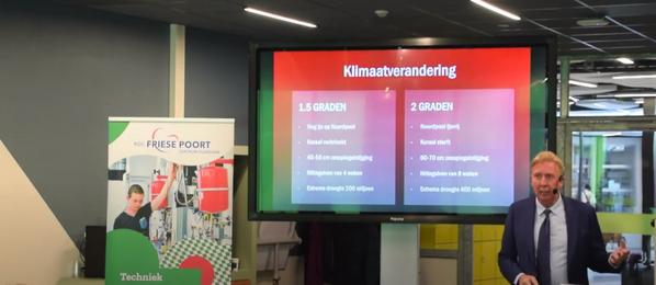 Gastspreker Rotmans ziet grote rol voor mbo'ers tijdens transitie naar duurzame economie