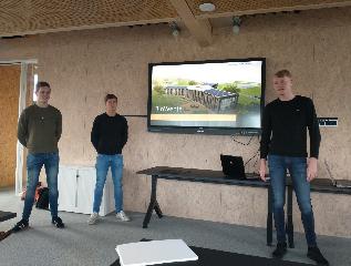 Studenten Middenfunctionaris Bouw presenteren eindontwerpen Biowente