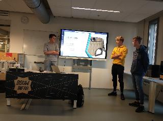 Studenten BouwInfra presenteren eindontwerpen Huis van Werkvermogen