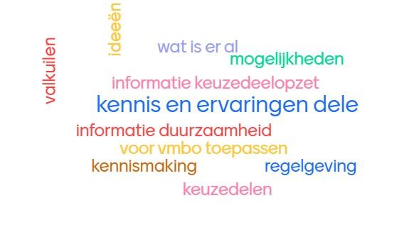 VMBO docenten ervaren duurzaamheid in online workshop