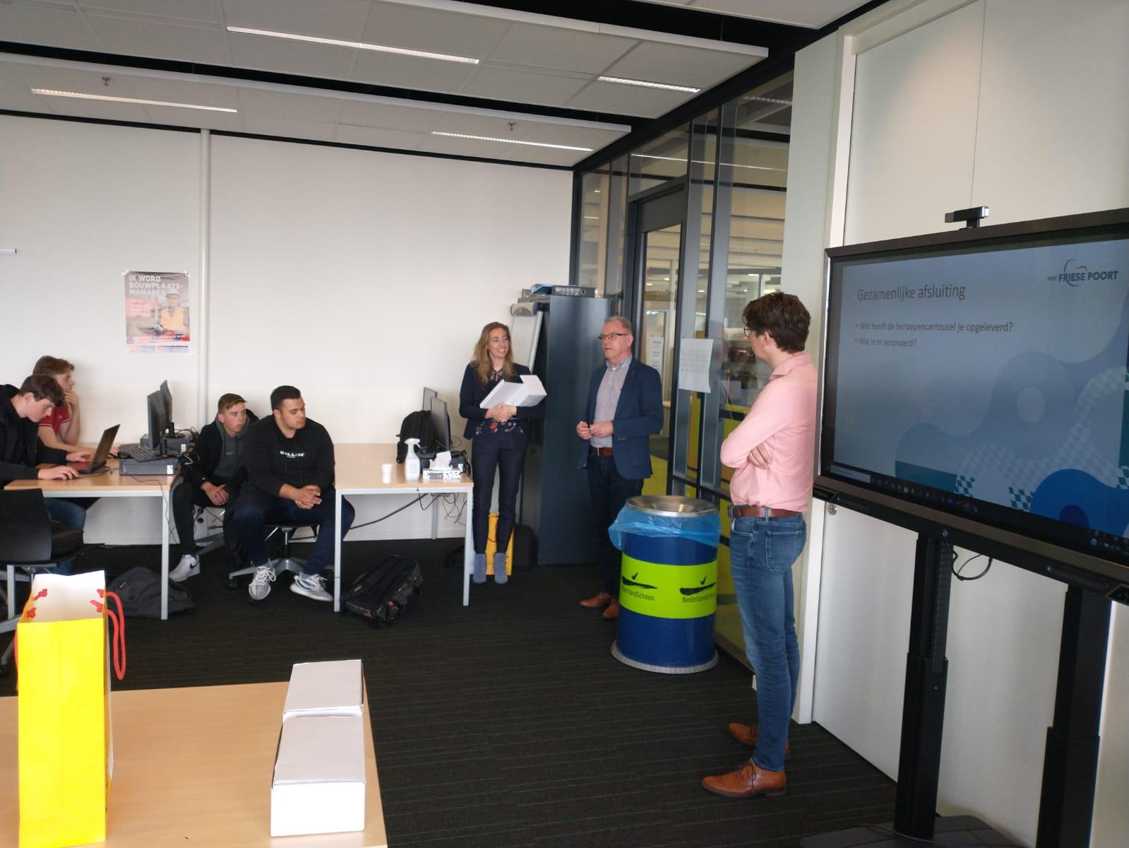 Digitale beroepencarrousel vanuit Heijmans voor Bouw- en Infrastudenten