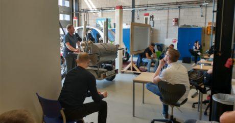 Waterstof workshop eerste stap in nieuwe duurzame techniek