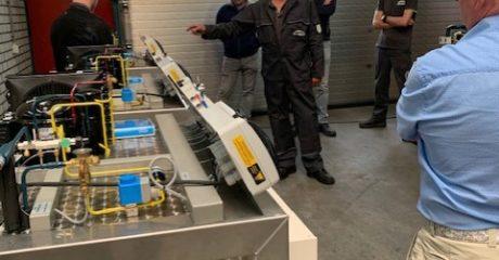 ROC Friese Poort klaar voor koudetechniek met lesunits